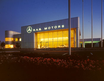 peter dodge faia architect r a b motors san rafael